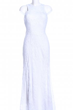 Guess Maxi Dress white allover print casual look
