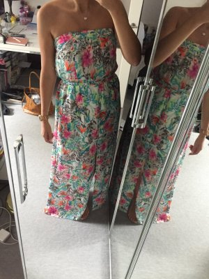 Guess Maxikleid Sommerkleid mit Blumen Größe M