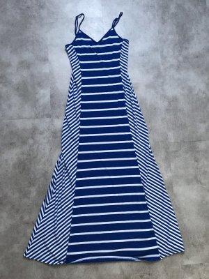 Guess Vestido largo blanco-azul