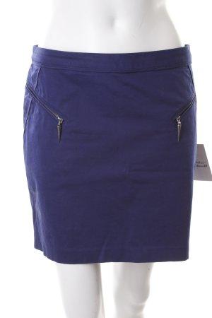 Guess Minigonna blu stile classico