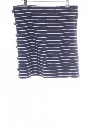 Guess Miniskirt dark blue-white navy look