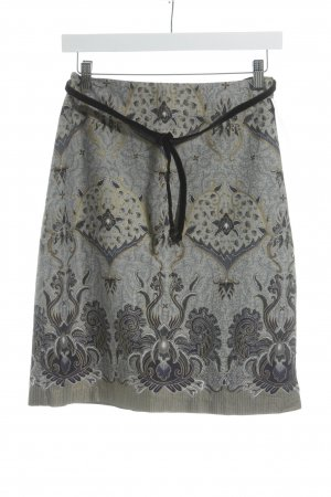 Guess Miniskirt slate-gray-gold-colored floral pattern casual look