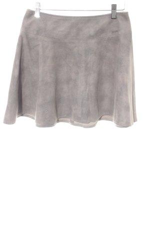 Guess Minigonna marrone-grigio Logo applicato (in metallo)