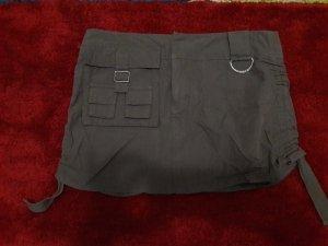 Guess Minifalda gris verdoso-caqui