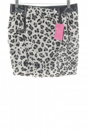 Guess Miniskirt leopard pattern party style