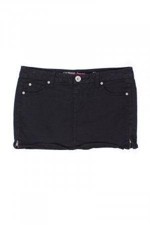 Guess Miniskirt black cotton