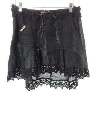 Guess Minifalda negro estilo urbano