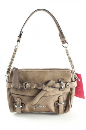 Guess Minibolso marrón grisáceo-marrón claro look casual