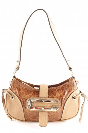 Guess Minibolso marrón claro-beige look casual