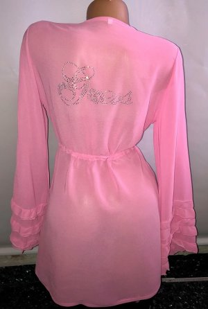 Guess Morgen Mantel in gr 38/40 Pink Neu Strass