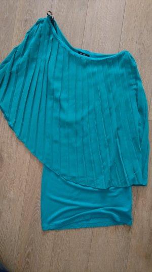 Guess Camisa de un solo hombro turquesa-verde