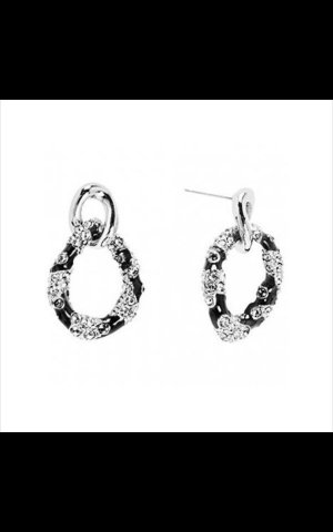Guess Earring black-silver-colored