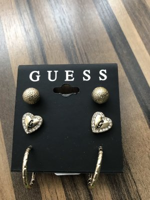 Guess Ear stud gold-colored-silver-colored