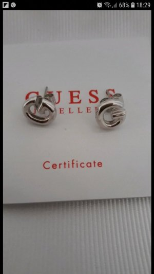 Guess Silver Earrings silver-colored