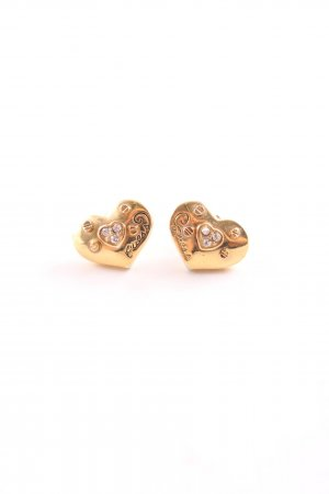 Guess Ear stud gold-colored business style