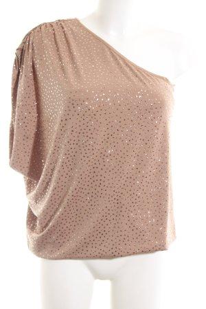 Guess Camisa de un solo hombro nude elegante