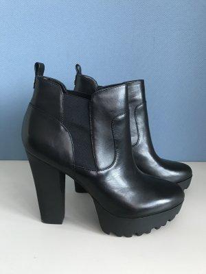 Guess Botas de tobillo negro Cuero