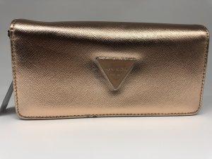 GUESS Original Geldbörse Portemonnaie Roségold Bronze Abree