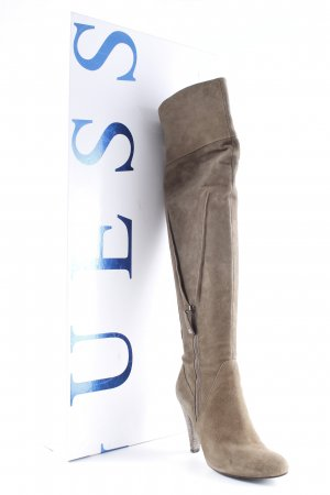 Guess Overknees grey brown party style