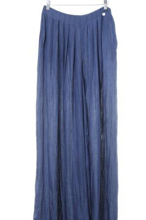 Guess Pantalone palazzo blu scuro elegante