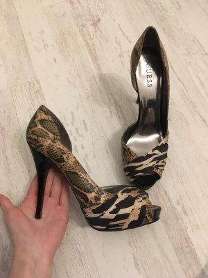 Guess Peeptoe High Heels