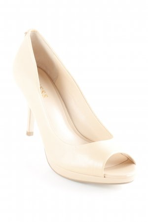 Guess Peeptoe Pumps nude Party-Look