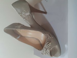 Guess Peeptoe Pumps silber