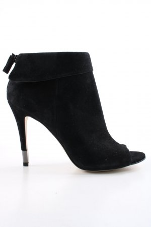 Guess Peep Toe Booties black casual look