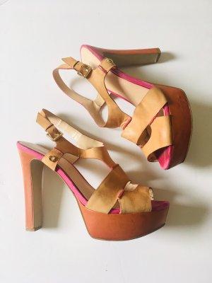 Guess Sandalo con plateau multicolore
