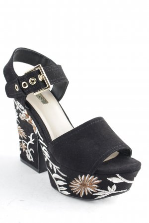Guess Platform High-Heeled Sandal abstract pattern party style