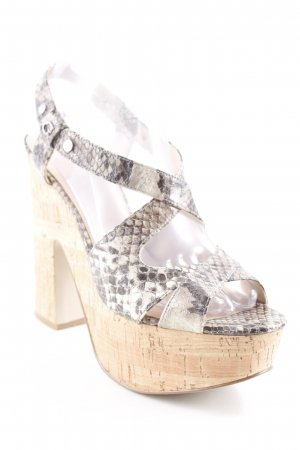 Guess Platform High-Heeled Sandal multicolored casual look