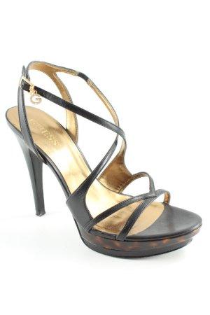 Guess Plateau-Sandaletten mehrfarbig Elegant