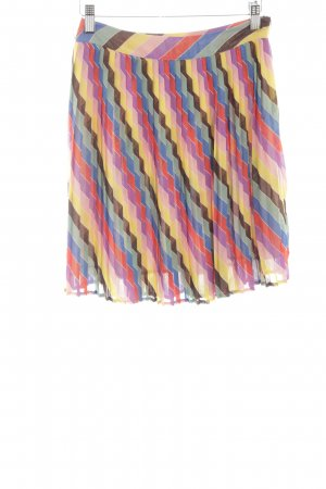 Guess Pleated Skirt graphic pattern casual look