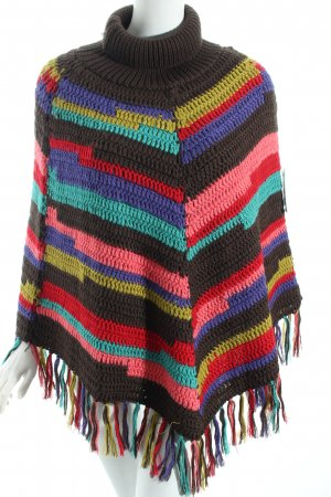 Guess Poncho mehrfarbig Casual-Look