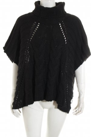 Guess Poncho negro look casual