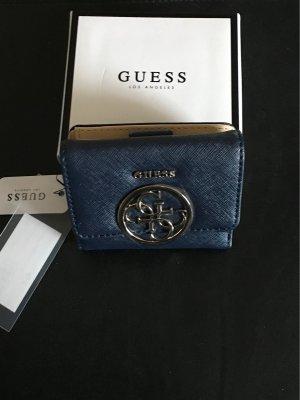 Guess Wallet dark blue