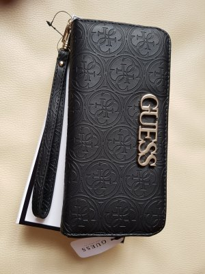 Guess Wallet black-gold-colored
