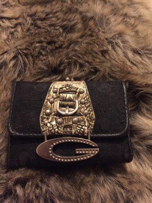 Guess Portemonnaie in schwarz