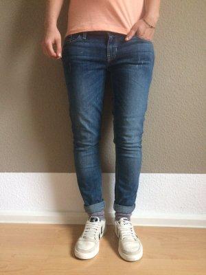 Guess Power Skinny Low Denim Jeans, Röhrenjeans, W26