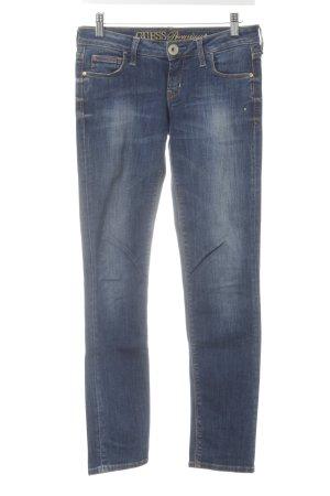 Guess Premium Skinny Jeans blau Casual-Look
