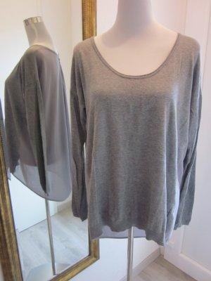 Guess Pulli Shirt grau Gr L