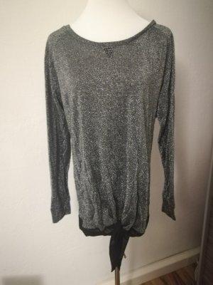 Guess Sweater zwart-zilver