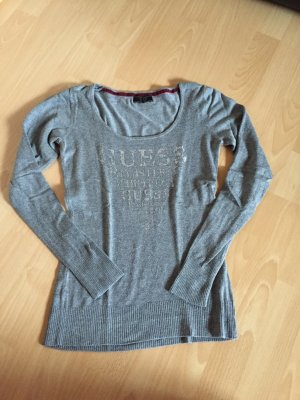 Guess Jersey color plata