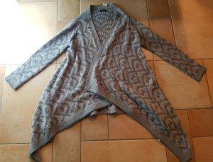 Guess Moda negro-color plata tejido mezclado