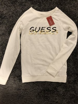 Guess Long Sweater white