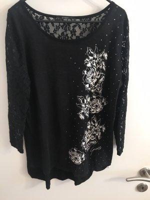 Guess Pullover mit Spitze Größe L