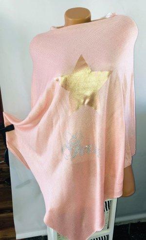 Guess Jersey de punto rosa-color oro Lana