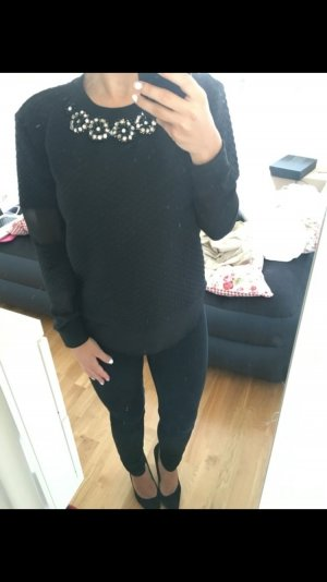 Guess Pullover schwarz