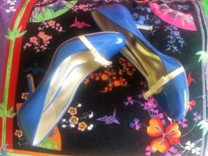 Guess Tacones altos azul