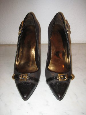 Guess Pumps, braun, Materialmix